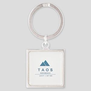 Taos Ski Resort Keychains