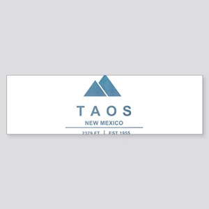 Taos Ski Resort Bumper Sticker