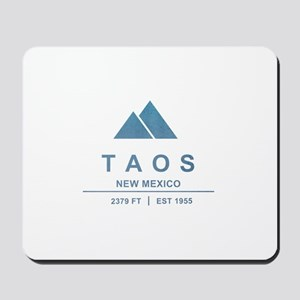 Taos Ski Resort Mousepad