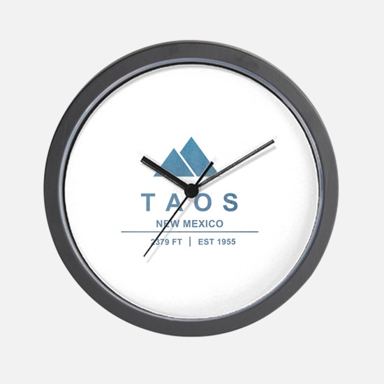 Taos Ski Resort Wall Clock