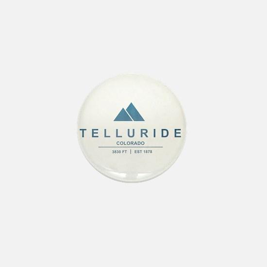 Telluride Ski Resort Mini Button