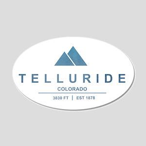 Telluride Ski Resort Wall Decal