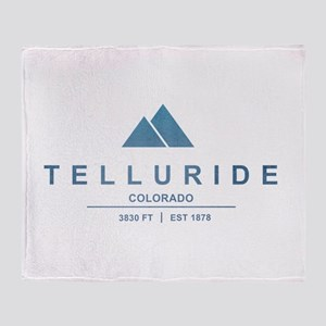 Telluride Ski Resort Throw Blanket