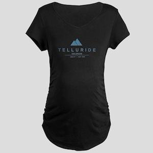 Telluride Ski Resort Maternity T-Shirt