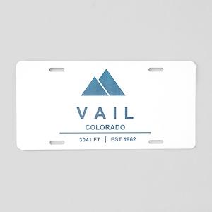 Vail Ski Resort Aluminum License Plate