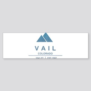 Vail Ski Resort Bumper Sticker