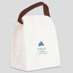 Vail Ski Resort Canvas Lunch Bag