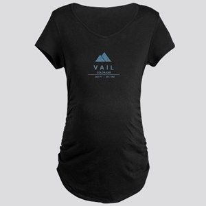 Vail Ski Resort Maternity T-Shirt