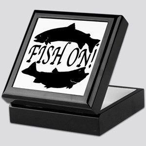 Fish on two Keepsake Box