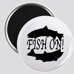 Fish on two Magnet