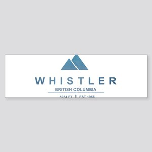 Whistler Ski Resort Bumper Sticker