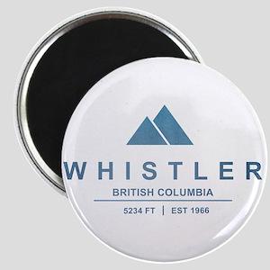 Whistler Ski Resort Magnets