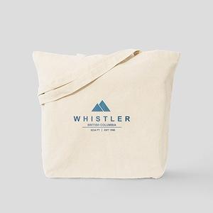 Whistler Ski Resort Tote Bag