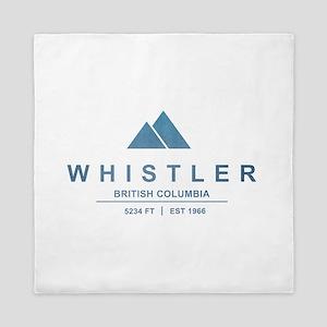 Whistler Ski Resort Queen Duvet