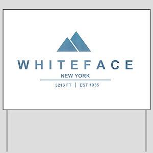 Whiteface Ski Resort Yard Sign