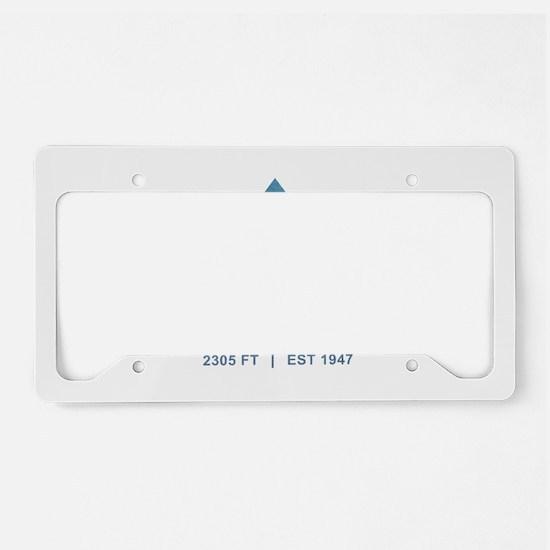 Whitefish Ski Resort License Plate Holder