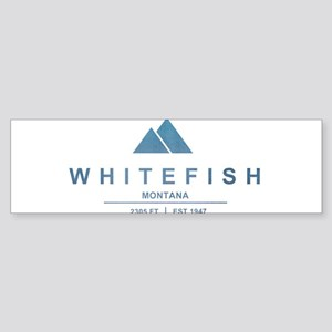 Whitefish Ski Resort Bumper Sticker