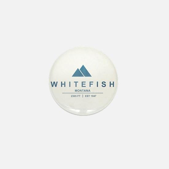 Whitefish Ski Resort Mini Button