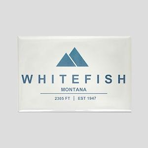 Whitefish Ski Resort Magnets