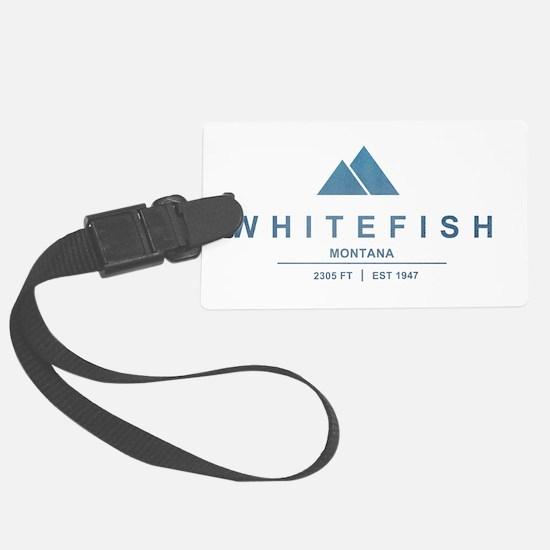 Whitefish Ski Resort Luggage Tag