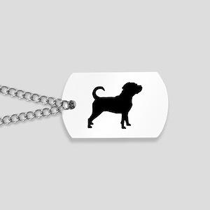 Puggle Dog Dog Tags