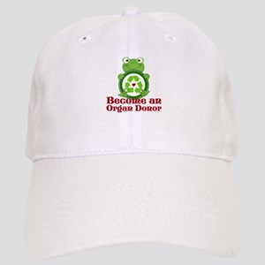 Organ donor recycle frog Cap