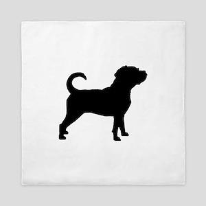 Puggle Dog Queen Duvet