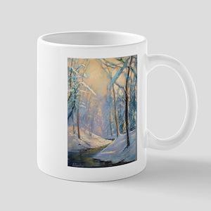 Winter brook pastel Mugs