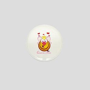 Personalizable Queen Bee Mini Button