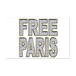 FREE PARIS (BLING EDITION) Mini Poster Print