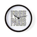 FREE PARIS (BLING EDITION) Wall Clock