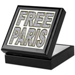 FREE PARIS (BLING EDITION) Keepsake Box