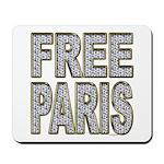 FREE PARIS (BLING EDITION) Mousepad