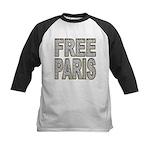 FREE PARIS (BLING EDITION) Kids Baseball Jersey