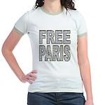FREE PARIS (BLING EDITION) Jr. Ringer T-Shirt