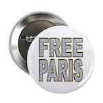 FREE PARIS (BLING EDITION) Button