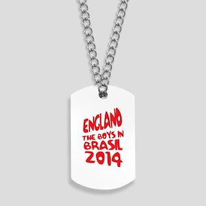 England World Cup 2014 Dog Tags