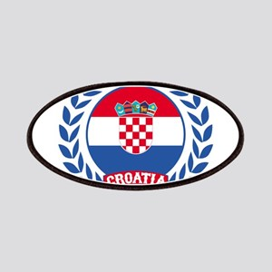 Croatia Wreath Patches