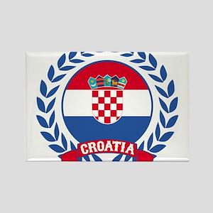 Croatia Wreath Magnets