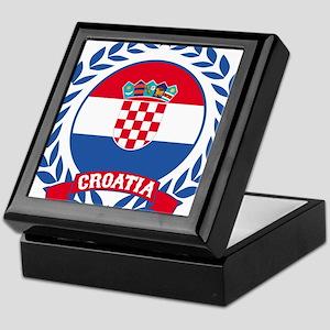 Croatia Wreath Keepsake Box