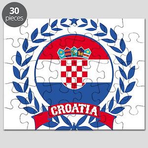 Croatia Wreath Puzzle