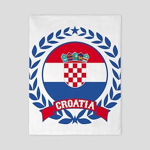 Croatia Wreath Twin Duvet