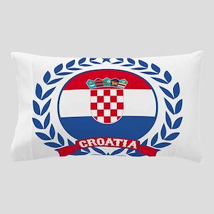 Croatia Wreath Pillow Case