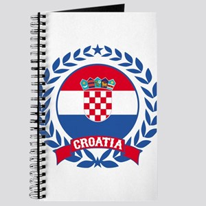 Croatia Wreath Journal