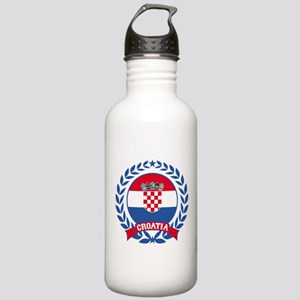 Croatia Wreath Water Bottle