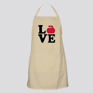 Curling love stone Apron