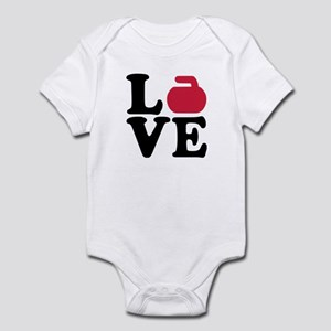Curling love stone Infant Bodysuit