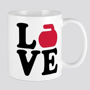 Curling love stone Mug