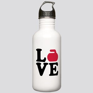Curling love stone Stainless Water Bottle 1.0L