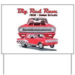 Big Red Ram 2014 Yard Sign